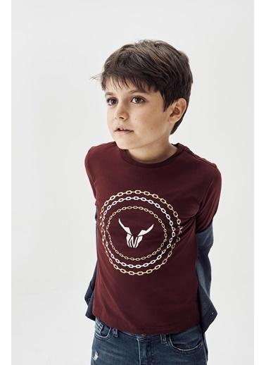 Nebbati Erkek Çocuk Bordo T-Shirt 20Fw0Nb3513 Bordo
